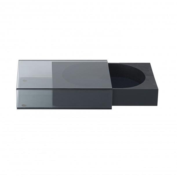 Boite à Bijoux Matchbox Medium Bois et Verre Fumé14,5 x 22 cm Nomess Copenhagen