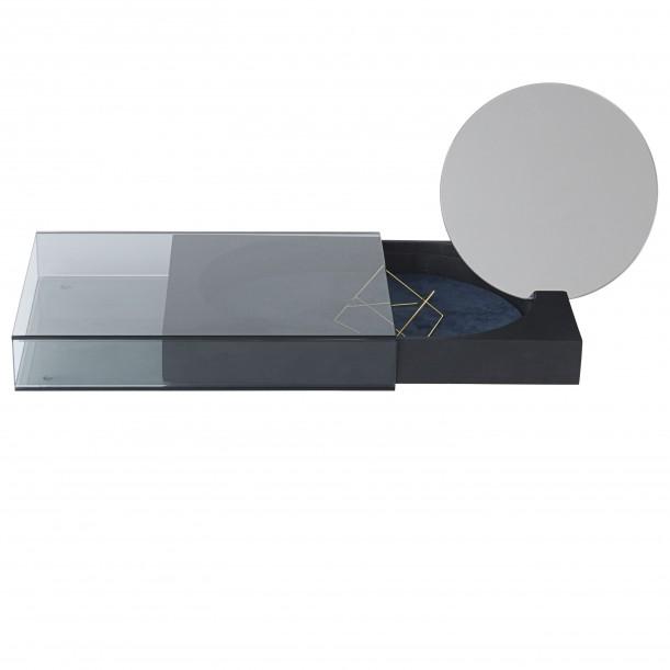 Boite à Bijoux Matchbox Large avec Miroir 20 x 32 cm Nomess Copenhagen