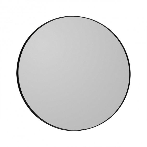 Circum Mirror Black Small Diam 70 cm AYTM