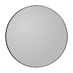 Miroir Mural Circum Noir Medium Diam 90 cm AYTM