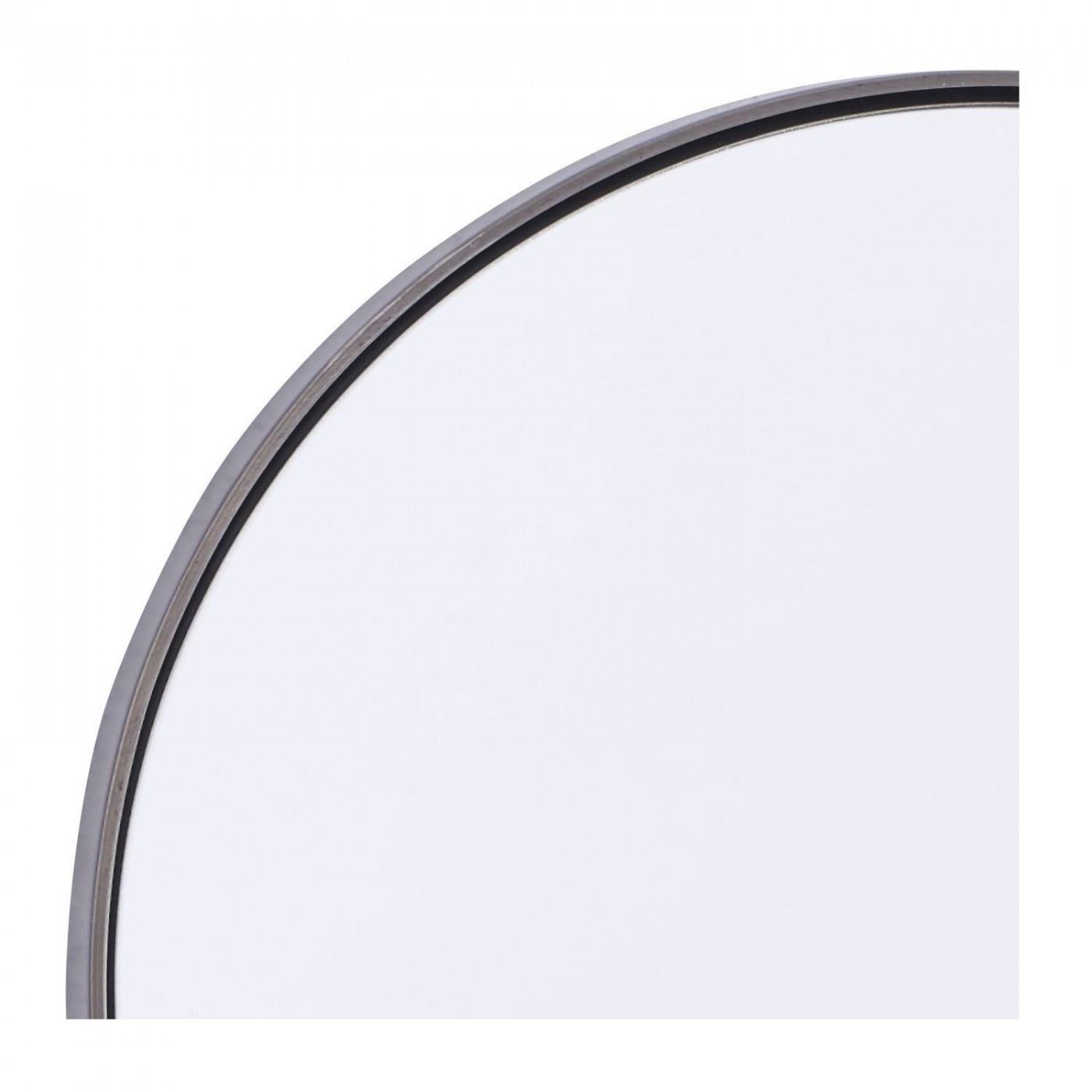 miroir rond reflection bord noir diam 30 cm house doctor