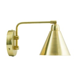 Wall Lamp Brass Game Small pivot arm House Doctor