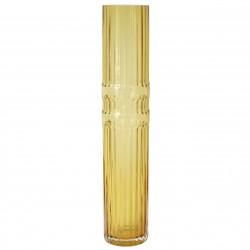 Ondin Vase Amber Glass Large H 50 x Diam 10 cm Eno