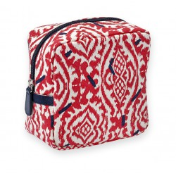 Makeup Bag Ikat Rouge 15 x 15 x 8 cm Mr & Mrs Clynk