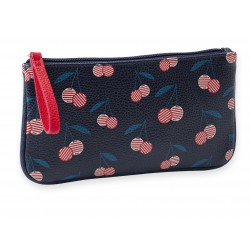 Makeup Bag Cerises Leatherette Mr & Mrs Clynk