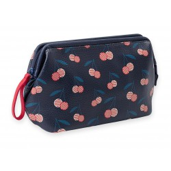Toilet Bag Cerises Leatherette Mr & Mrs Clynk