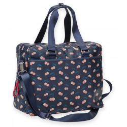 Travel Bag Cerises Leatherette Mr & Mrs Clynk