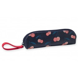 Pencil Case Cerises Leatherette Mr & Mrs Clynk