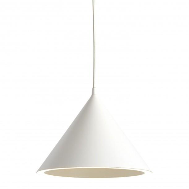 Annular White Pendant Diam 32 cm Woud