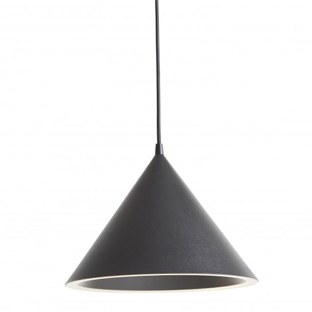 Annular Black Pendant Diam 32 cm Woud