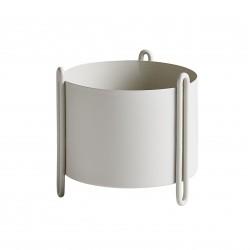 Pidestall Flowerpot Small Grey Diam 15 x H 15 cm Woud
