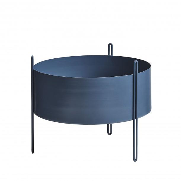 Pidestall Flowerpot Medium Blue Diam 40 x H 35 cm Woud
