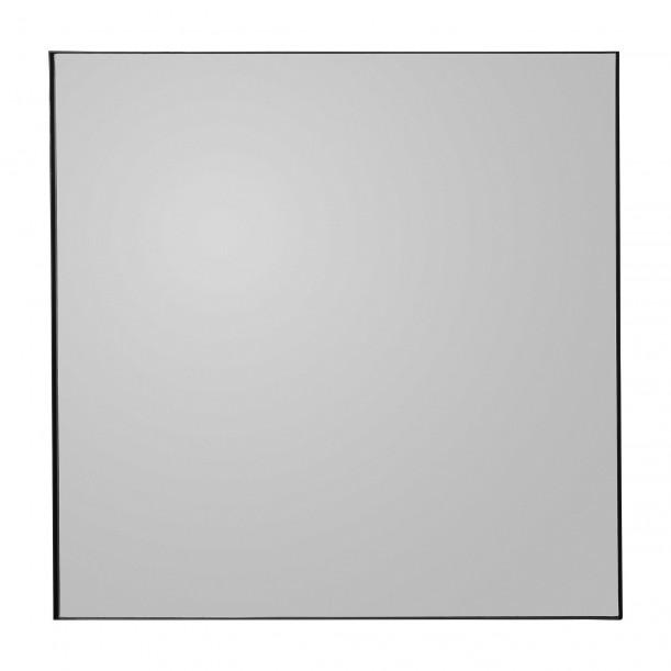 Miroir Mural Quadro Teinté Noir Carré 90 X 90 cm AYTM