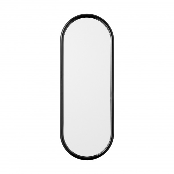 Angui Mirror Black Oval H 78 X 29 cm AYTM