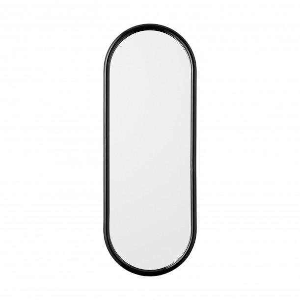 Miroir Mural Angui Noir Ovale H 78 X L 29 cm AYTM