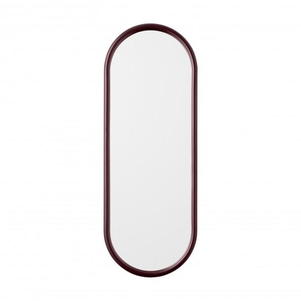 Miroir Mural Angui Bordeaux Ovale H 78 X L 29 cm AYTM