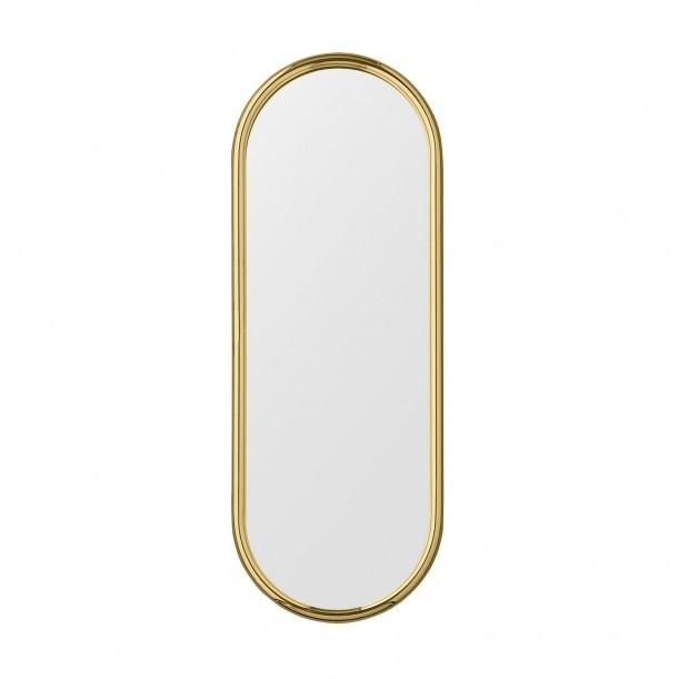 Angui Mirror Brass Oval H 78 X 29 cm AYTM