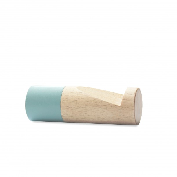 Wook cylindrical Blue Hook Small Diam 30 x 90 mm Archiv Collection