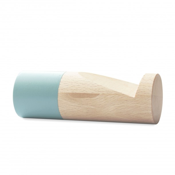 Wook cylindrical Blue Hook Large Diam 40 x 120 mm Archiv Collection