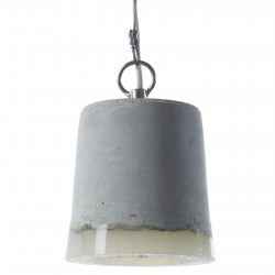 Concrete and Silicone Pendant Small diam 12 cm Serax
