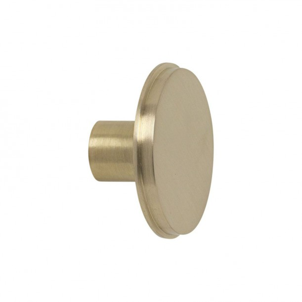 Hook Brass Large Diam 5 x 2,5 cm Ferm Living