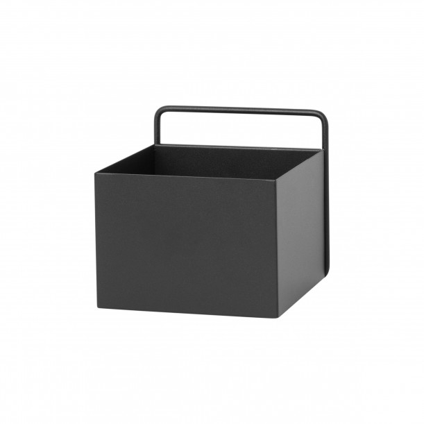 Wall Box Square Black Ferm Living