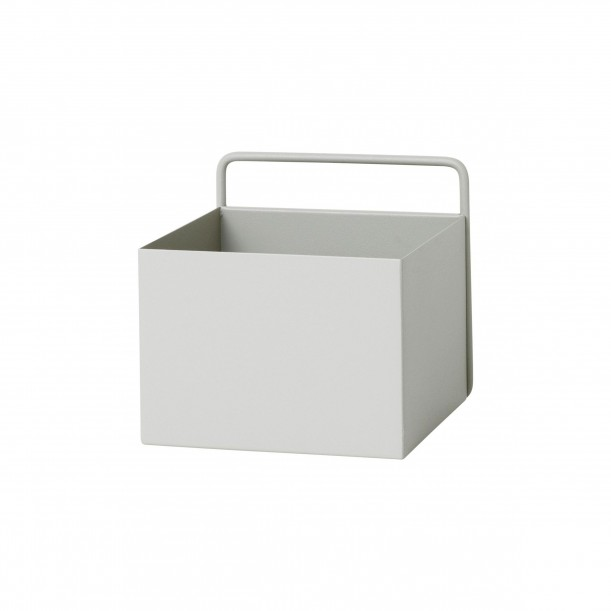 Wall Box Square Light Grey Ferm Living