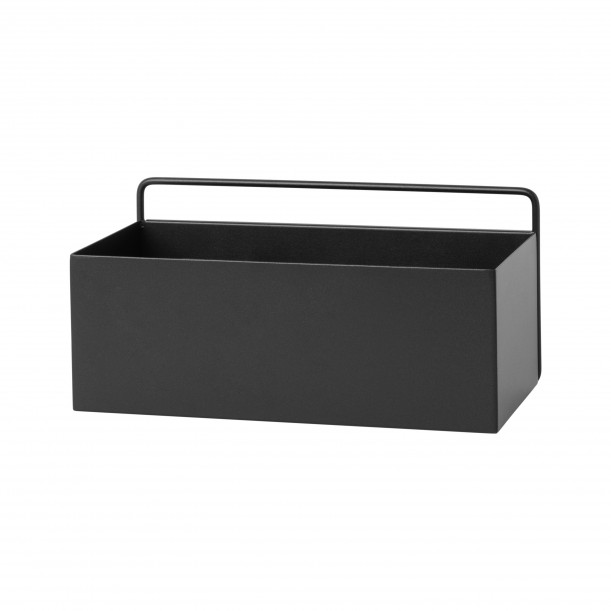 Wall Box Rectangle Black Ferm Living