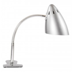 Clip On Lamp Metallic Silver Waterquest