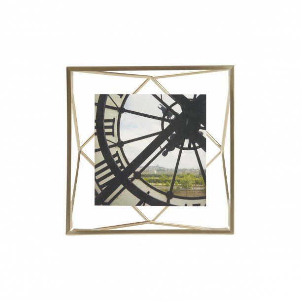 Cadre Prisma Laiton Mat pour Photo 10 x 10 cm Umbra