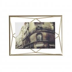Cadre Prisma Laiton Mat pour Photo 10 x 15 cm Umbra