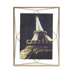 Prisma Frame Matte Brass for 13 x 18 cm Photo Umbra
