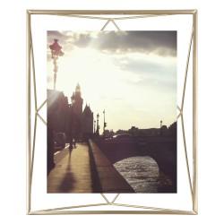 Cadre Prisma Laiton Mat pour Photo 20 x 25 cm Umbra