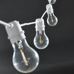 Light Chain White 10 Led Bulbs House Doctor