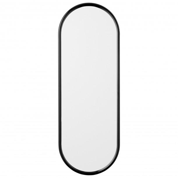 Miroir Mural Angui Noir Ovale Large H 108 X L 39 cm AYTM