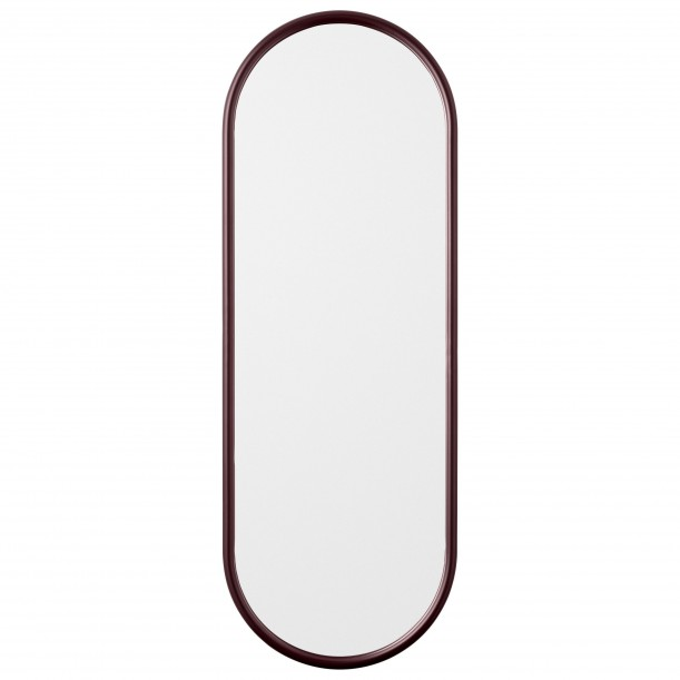 Angui Mirror Bordeaux Oval Large H 108 X 39 cm AYTM