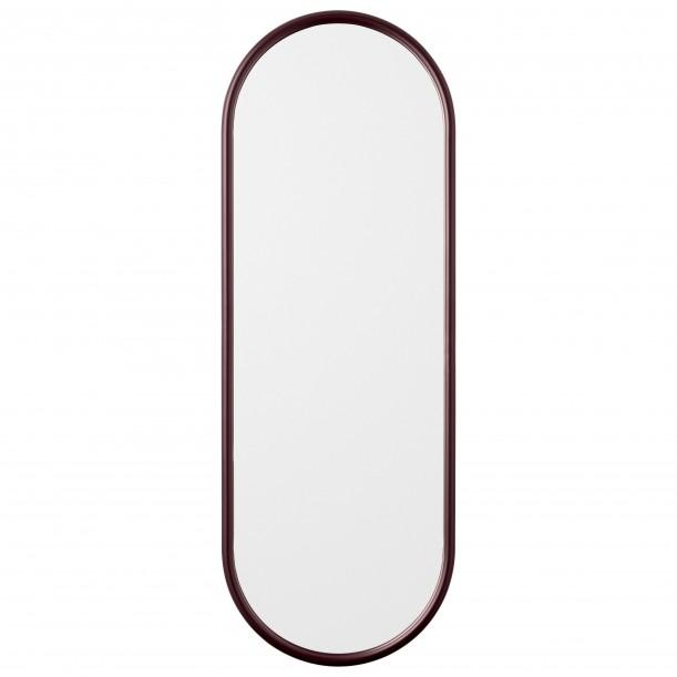 Miroir Mural Angui Bordeaux Ovale Large H 108 X L 39 cm AYTM