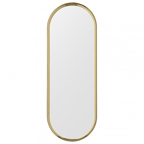 Angui Mirror Brass Oval Large H 108 X 39 cm AYTM