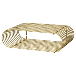 Shelf Curva Brass AYTM