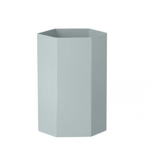 Hexagon Vase Light Blue Ferm Living