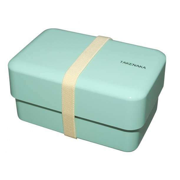 Bento Box Rectangle Peppermint L 165 x l 108 x h 90 mm Takenaka