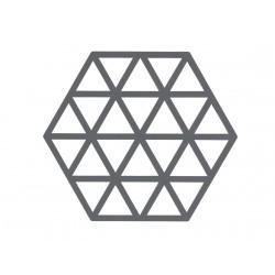 Dessous de Plat Triangle Gris 16 x 14 cm Zone Denmark