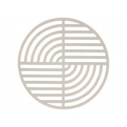 Dessous de Plat Circle Gris Clair Diam 14 cm Zone Denmark