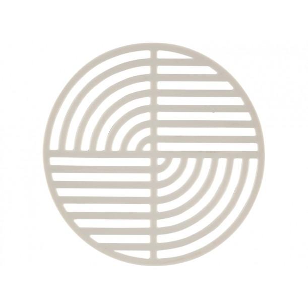 Trivet Circle Warm Grey Diam 14 cm Zone Denmark