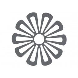 Trivet Daisy Cool Grey Diam 15 cm Zone Denmark