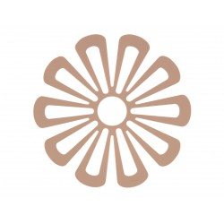 Trivet Daisy Nude Diam 15 cm Zone Denmark