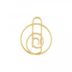 Trombones Spirale Laiton Monograph