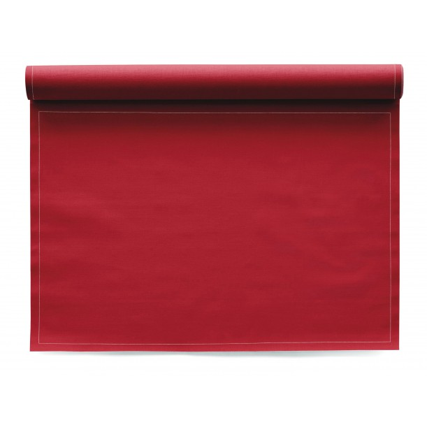 Roll of 12 Placemats Mydrap Red