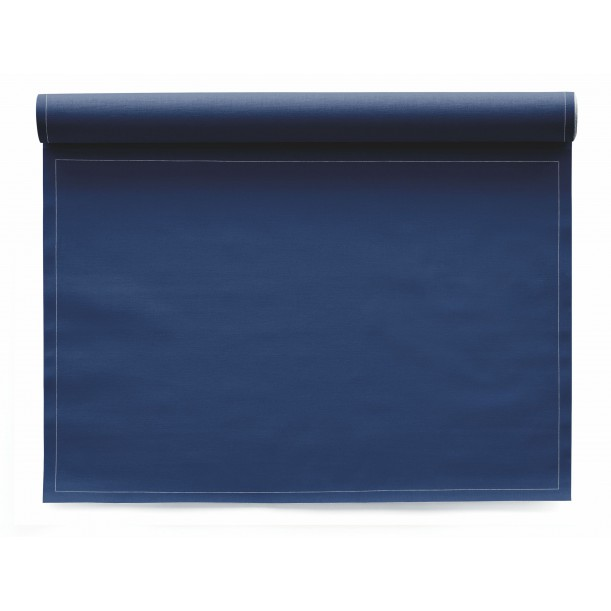 Roll of 12 Placemats Mydrap Navy Blue