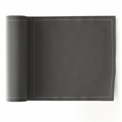 Rouleau de 25 Serviettes de Table Anthracite Mydrap